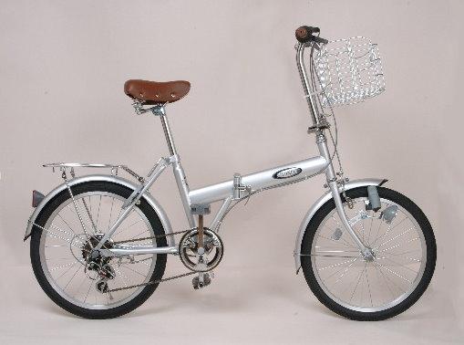パンクしない折りたたみ自転車PJ20