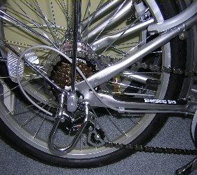 ノーパンク折りたたみ自転車pj20_6段ギア