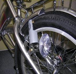 ノーパンク折りたたみ自転車PJ20_ライト