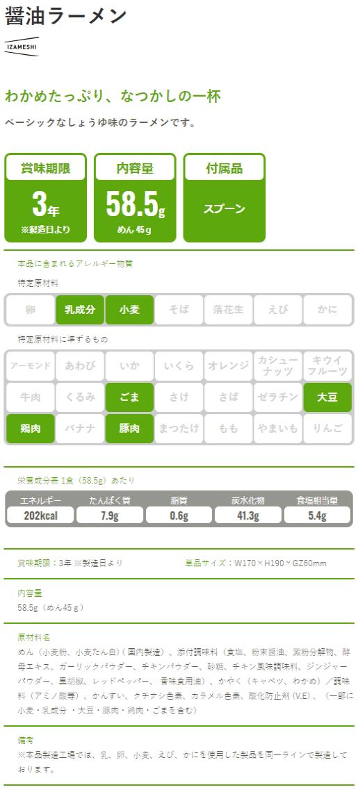 醤油ラーメン-IZAMESHI